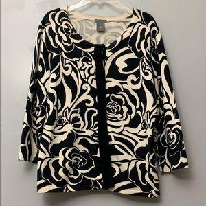 Ann Taylor button down cardigan sweater size M